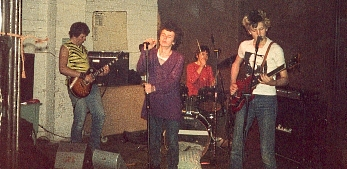 Metro Youth live in Exeter in 1980
