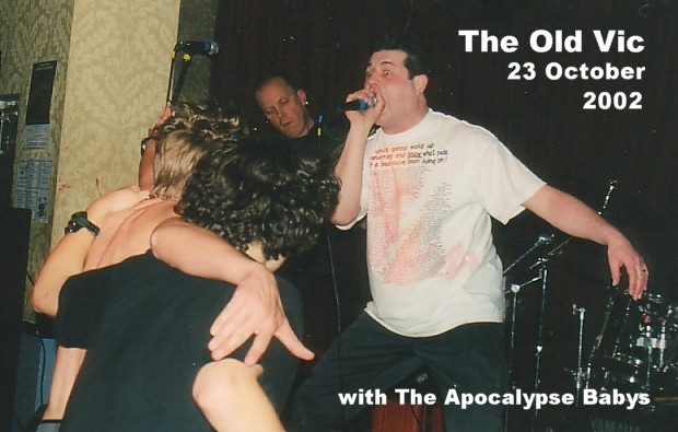 Pointy Boss Live at The Old Vic, Nottingham, 23 October 2002, with the Apocalypse Babys